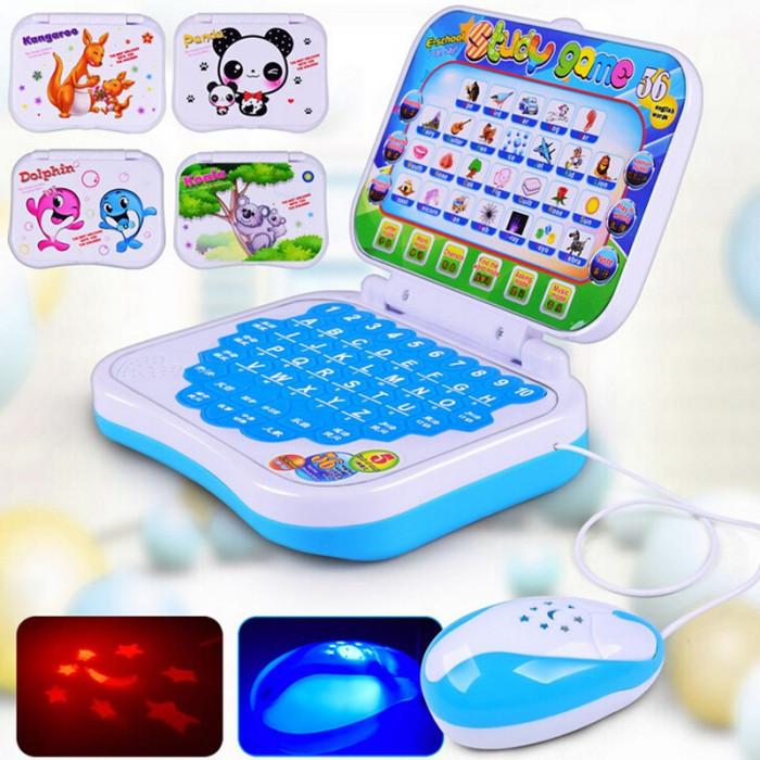 Laptop de Jucarie cu Mouse/Proiector si functii educative foto mare