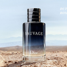 Parfum Original Christian Dior Sauvage 100ml Tester, Apa de toaleta, 100 ml