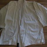 Kimono aikido și hakama neagră, Culoare: Alb, Marime: M/L