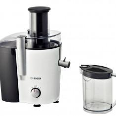 Storcator Bosch MES25A0 pentru fructe si legume, putere 700W, alb