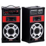 Boxe mari 100 wati active cu bluetooth statie incorporata 2 intrare microfoane - Boxa activa, Boxe compacte, 81-120W