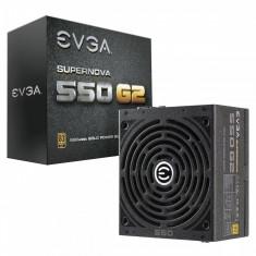 Sursa EVGA SuperNova 550 G2, 550W, 80+ Gold, ventilator 140 mm, PFC Activ - Sursa PC