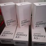 Samsung A 3 2016 sigilat - Telefon Samsung, Auriu, 16GB, Neblocat, Single SIM, Quad core
