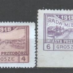 1918 Polonia Mi. 3 - 6 conditie perfecta, Nestampilat