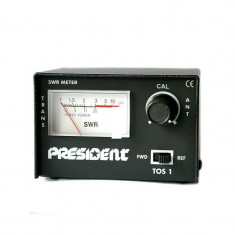 SWR metru President TOS-1