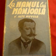 I.L.Caragiale - La Hanul lui Manjoala-si alte nuvele - BPT 1372-1373 ,interbelic