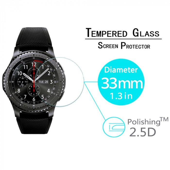 Folie de protectie ecran din sticla Samsung Gear S3 Classic / Frontier / Watch