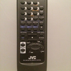 Telecomanda Sistem/Linie Audio/CD-Player JVC model RM-SED452TRU - Impecabila - Telecomanda aparatura audio
