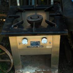 ARAGAZ PROFESIONAL - JUNKER+RUH - PT. VASE DE 50 / 100 LITRI - INOX ȘI FONTĂ!, Electric, 1 arzator