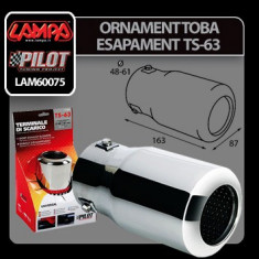 Ornament toba esapament sport TS-63 Profesional Brand - Toba sport