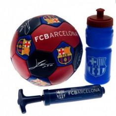 FC Barcelona Set Cadou - Set echipament fotbal Kit, Marime: Masura unica