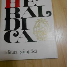 MARCEL STURDZA - SAUCESTI--HERALDICA - Istorie