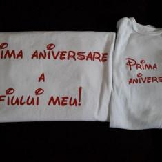 Tricouri pentru tata si fiu -