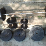 Gantere de vanzare, Greutate (kg): 40