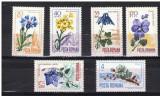 Romania 1967 - FLORA CARPATINA, serie nestampilata, PT27, Natura, Nestampilat