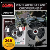 Ventilator oscilant Chrome - Fan - Aeroterma