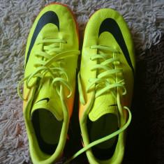 Nike Mercurial Indoor Originali - Ghete fotbal Nike, Marime: 37.5, Culoare: Verde