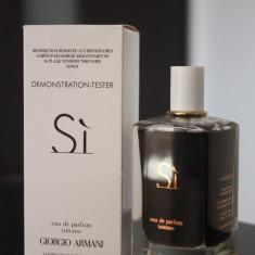 Parfum TESTER original Armani Si intense 100 ml pentru femei - Parfum femeie Armani, Apa de parfum