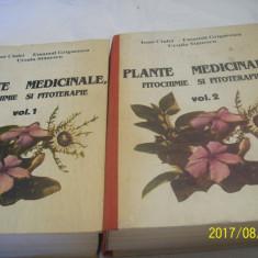 Plante medicinale-fitochimie si fitoterapie -vol 1 + vol 2- an 1993