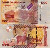 UGANDA 1.000 shillings 2017 UNC!!!