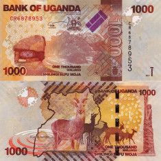 UGANDA 1.000 shillings 2017 UNC!!! - bancnota africa
