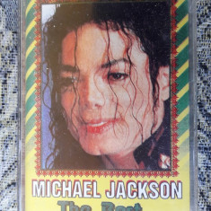 MICHAEL JACKSON -THE BEST, CASETA AUDIO - Muzica Pop, Casete audio