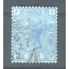 1880 Anglia  Mi. 59 stampilat