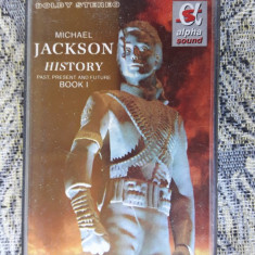 MICHAEL JACKSON VOL 2 - HISTORY, CASETA AUDIO - Muzica Pop, Casete audio