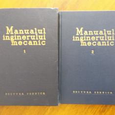Manualul inginerului mecanic 2 vol. / R4P2F - Carti Mecanica