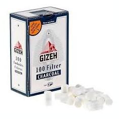Filtre tigarete GIZEH Carbon Activ 8mm - Filtru tutun