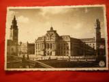 Ilustrata Oradea - Primaria ,circ. 1938