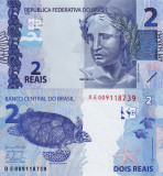 BRAZILIA 2 reais 2010 UNC!!!