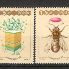 Polonia.1987 Congres mondial de apicultura KF.91 - Timbre straine, Nestampilat