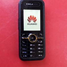 DIGI HUAWEI U1220s + INCARCATOR, FUNCTIONEAZA - Telefon Huawei, Negru, Nu se aplica, RDS-Digi Mobil, Fara procesor