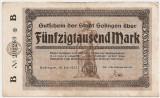 GERMANIA STADT SOLINGEN 50000 MARK 1923 U
