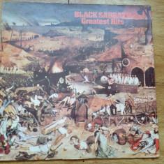 BLACK SABBATH - GREATEST HITS (1977, NEMS, Made in UK) DISC UZAT - Muzica Rock, VINIL