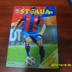 Program Steaua - FCM Tg. Mures - Program meci