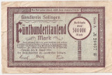 GERMANIA STADT SOLINGEN 500000 MARK 1923 U