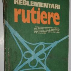 Reglementari rutiere- 1983 Cluj Napoca - Carte Legislatie