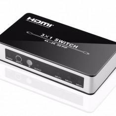 Switch HDMI EVOCONNECT HDCVT-HDS-931P 3x1 cu PIP