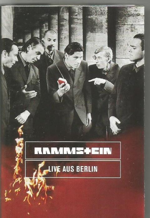 A(01) Caseta audio-Rammstein - Live Aus Berlin