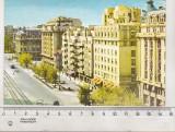 Bnk cp Bucuresti - Pe b-dul N Balcescu - uzata, Circulata, Printata
