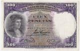 SPANIA 100 PESETAS 1931 AUNC