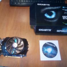 Vand Placa video Gigabyte NVIDIA GeForce GTX 650 OC, 2048MB, GDDR5 - Placa video PC Gigabyte, PCI Express, 2 GB