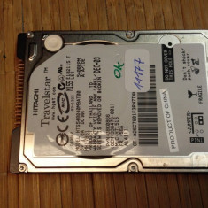 HDD Laptop Hitachi 40 GB IDE (11177), Rotatii: 5400