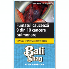 Tutun pentru rulat BALI BLUE AMERICAN 40 gr