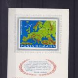 ROMANIA 1975, LP 892, CONFERINTA PENTRU SECURITATE HELSINKI COLITA NED. MNH - Timbre Romania, Nestampilat