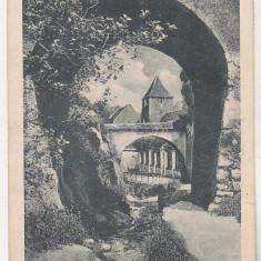 bnk cp Brasov - O parte de Dupa Ziduri - circulata 1929