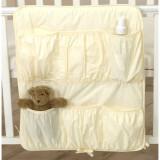 Organizator Bej 70x60 cm - Patut pliant bebelusi
