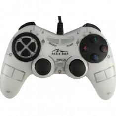 Gamepad Media-Tech Corsair II, PC, Alb